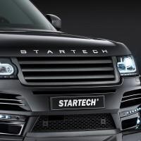 STARTECH Карбоновая решетка радиатора для Range Rover 2013-2017