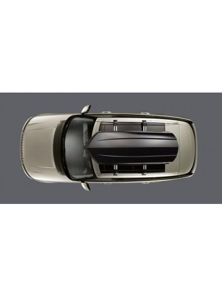Багажный бокс на крышу багажника Black 320L для Land Rover Discovery 5 2017