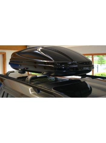 Багажный бокс на крышу багажника Black 410L для Range Rover Sport L494