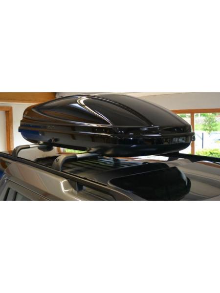 Багажный бокс на крышу багажника Gloss Black 410L для Range Rover Sport L494
