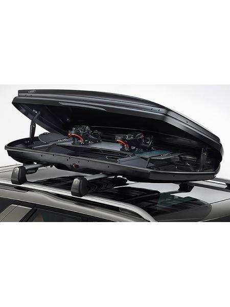 Крепления для перевозки лыж (сноуборда) для Land Rover Discovery 5 2017 (в боксе на багажнике)