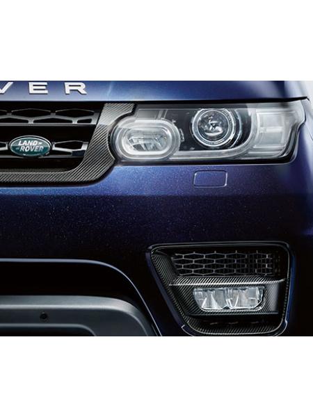 Комплект карбоновых окантовок ПТФ для Range Rover Sport L494
