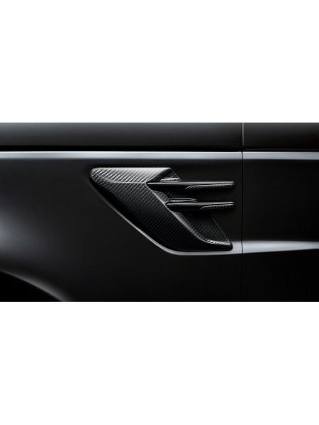 Боковые воздухозаборники Carbon Fibre (карбон) для Range Rover Sport L494