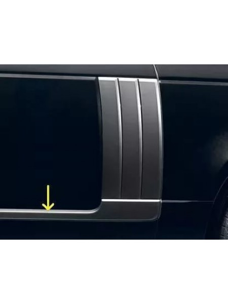 Комплект молдингов на двери Dark Atlas для Range Rover L405