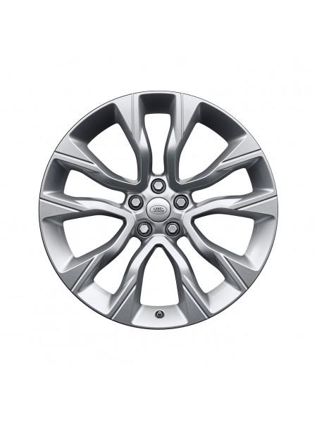 Колесный диск R22 светлый для Range Rover Sport L494 (Piston Sparkle Silver)
