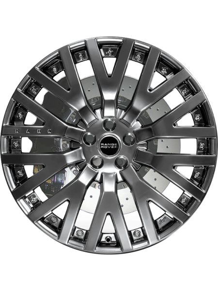 Колесный диск R23 Diamond Cut on Silver от Kahn Design для Range Rover L405 (Kahn 600LE)