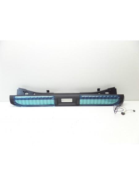 Декоративная накладка багажного отделения с подсветкой Ebony Black для Range Rover Sport L494