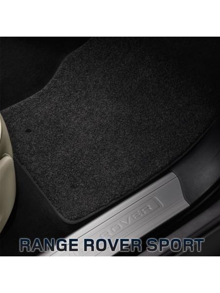 Комплект велюровых ковров салона, Ebony для Range Rover Sport 2010-2013