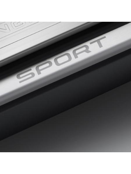 Комплект декоративных накладок на передние пороги, Sport для Range Rover Sport 2010-2013