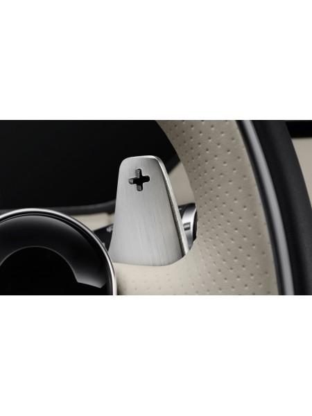 Подрулевые лепестки переключения передач, анодированное серебро для Range Rover Evoque