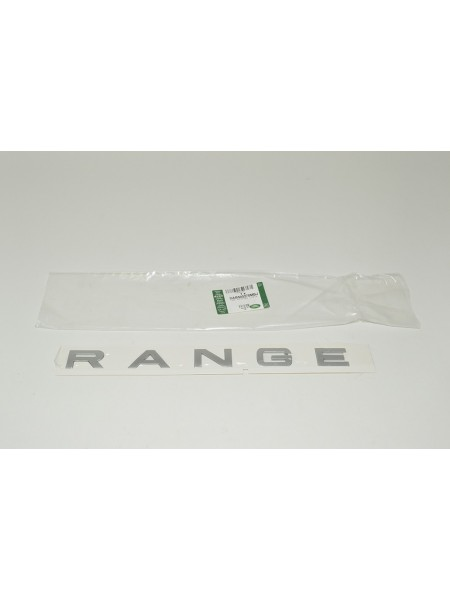 Задняя надпись Range Titan Silver для Range Rover Sport 2010-2013