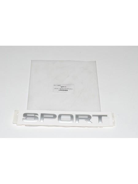 Задняя надпись на крышке багажника Sport для Range Rover Sport 2010-2013