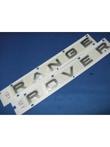 Задняя надпись Range Atlas Silver для Range Rover Sport 2010-2013