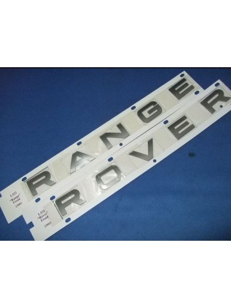 Задняя надпись Rover Atlas Silver для Range Rover Sport 2010-2013