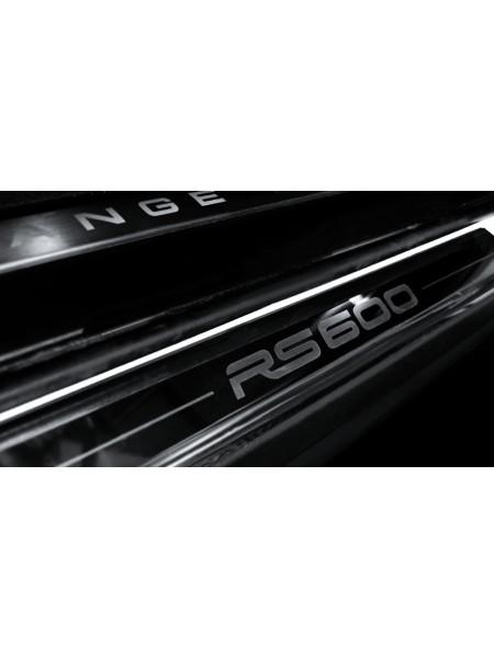 Дверные пороги из нержавеющей стали RS от Kahn Design для Range Rover Sport 2010-2013