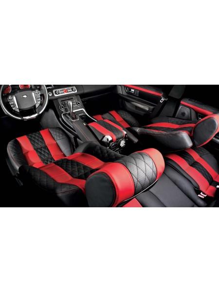 Кожаный салон (передние и задние сиденья) Signature от Kahn Design для Range Rover Sport 2010-2013