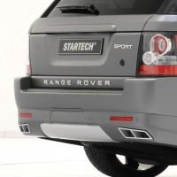 STARTECH Накладка заднего бампера для Range Rover Sport 2010-2013
