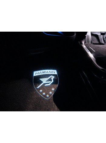 HAMANN logo LED иллюминация на дверь для Range Rover