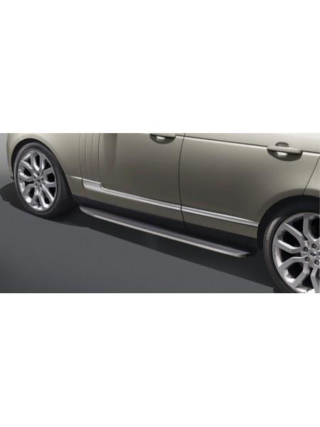 Боковые подножки ступень для Range Rover Sport 2013-