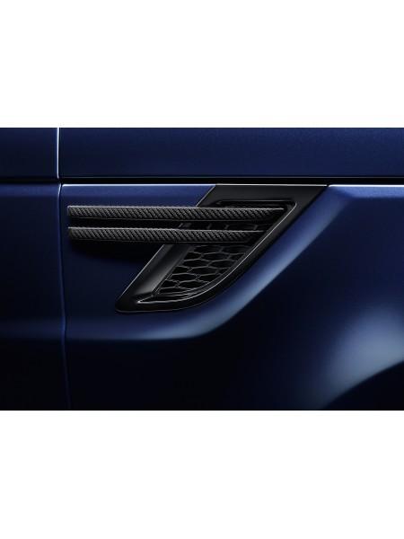 Комплект карбоновых боковых воздухозаборников для Range Rover Sport L494
