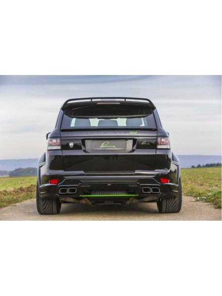 Спортивная выхлопная система Lumma для Range Rover Sport 5.0L supercharged