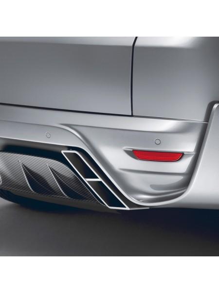 STARTECH Задний бампер + карбоновый диффузор для Range Rover Sport L494