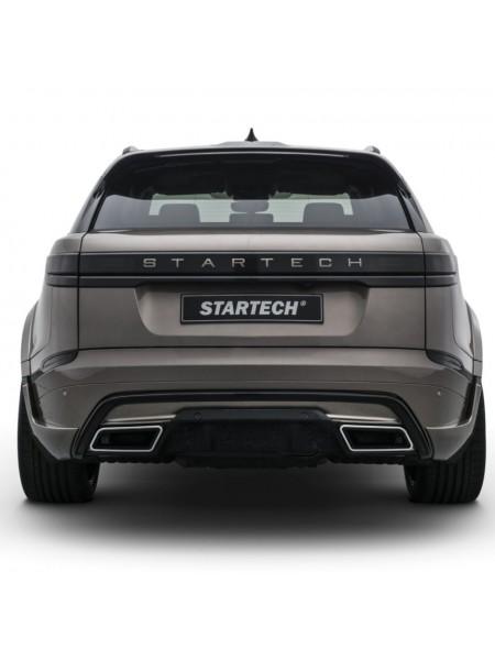 STARTECH диффузор заднего бампера PUR R-RIM для Range Rover Velar
