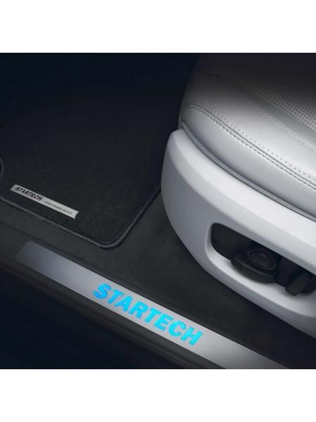 STARTECH накладки на пороги с подсветкой для Range Rover Velar 2017