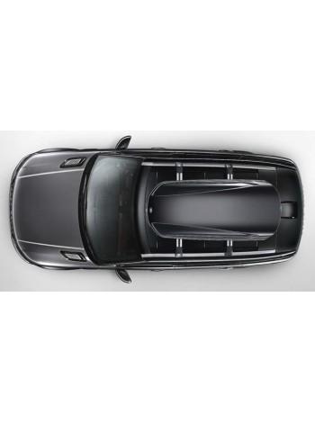 Багажный бокс на крышу багажника,  Gloss Black 410 для Range Rover Evoque