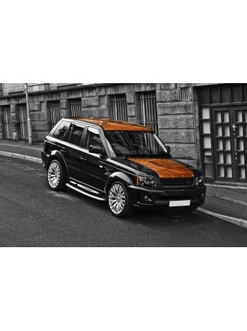 Покраска деталей Land Rover Range Rover